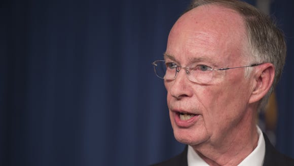 Robert Bentley is the governor of Alabama.