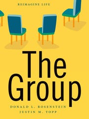 """""""The Group: Seven Widowed Fathers Reimagine Life"""" by Donald L. Rosenstein and Justin M. Yopp."""