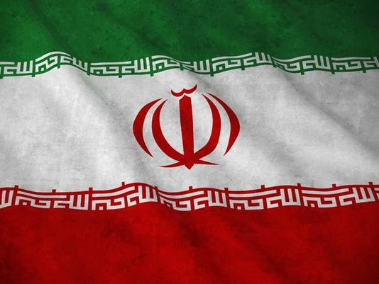 Grunge Flag of Iran - Dirty Iranian Flag 3D Illustration