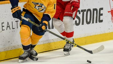 Predators fall behind early to Red Wings, suffer second consecutive regulation loss