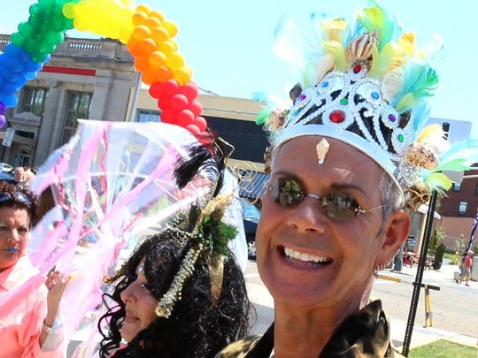 The Jersey Pride festival in Asbury Park always draws a big crowd. There's plenty of food, activities, music and entertainment. This year marks the 25th Jersey Pride.