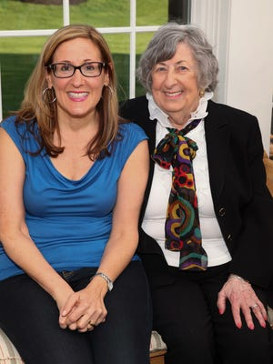 Pam Sherman and her mother, Sharon Weinstein.
