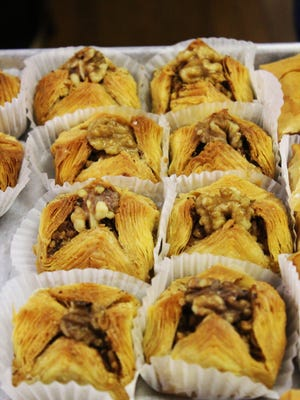 A variety of pastries will be available at the 28th annual Greek Food Festival, held on Thursday and Friday.