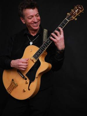 Appleton musician Scott Dercks will sit in with the Big Z Blues Band Saturday at Xavier High School.