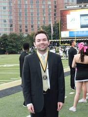 Jackson Vaught was honored with the Outstanding Senior Award at Vanderbilt University in Nashville.