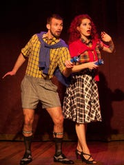 """Chris Harder and Nasty Canasta perform in """"Nasty Drew and That Harder Boy."""""""