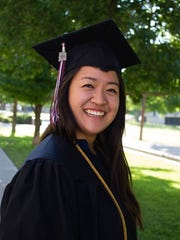 Cindy Yeh, who graduated from NMSU Saturday, May 14, 2016 with a Bachelor of Science in Genetics and Biotechnology.