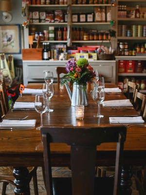 Supper Club dinners are served in the general store atmosphere of Red Store in Cape  May Point, where fine dining and farm-fresh commitment meets old-fashioned country charm.