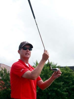 Golf teacher Andy Scott says he works hard to understand how he can help students play their best.