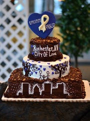 A creation at the Epilepsy-Pralid annual Chocolate Ball.