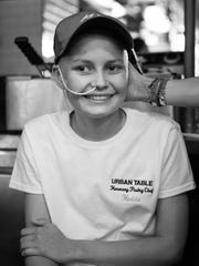Hedda Sivertsson, 14, of Morris township is receiving strong support from the community as she battles a form of pediatric brain cancer.