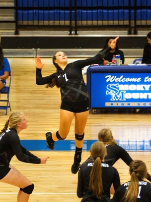 Smoky Mountain senior Emma Raleigh has committed to play college volleyball for Bradley.