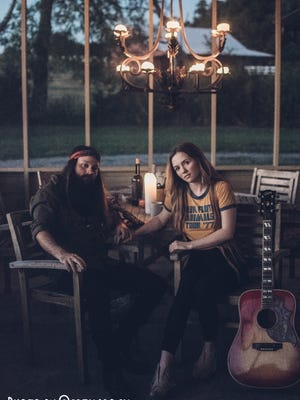 """Cole Vosbury, past contestant of NBC's """"The Voice,"""" partners with singer Amanda June to form The Lovers."""