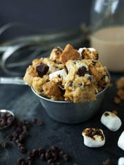 Glessner's favorite, a smores-flavored cookie dough,