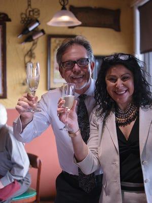 Alfredo and Linda Giulio own Alfredo's Paradiso on Merritt Island.