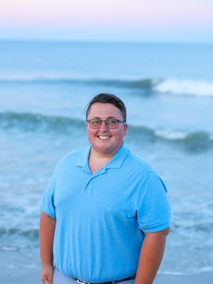 Austin Auen is a realtor in Rehoboth Beach, and was the first state-wide Gay-Straight Alliance president in 2015.
