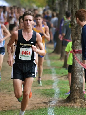 Cory Anthony, boys All Metro Cross Country Runner of the Year