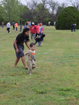 The annual Wichita Falls Parks & Recreation Easter Egg Hunt is from 3 to 4 p.m. Saturday at Lucy Park. There will be 24 gold eggs with coupons for prizes. There will be 10,000 eggs to be found with candy and toys.