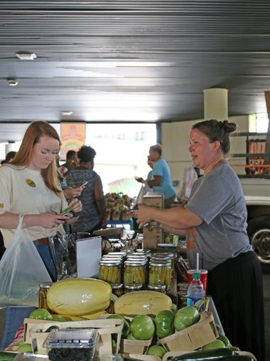 The annual Alfa Farmers Market brought fresh summer