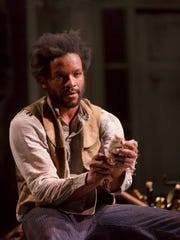 Luke Forbes plays John, a former slave in this house, where he was raised alongside the master's son.
