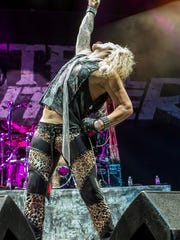 Steel Panther opens for Judas Priest at Gila River