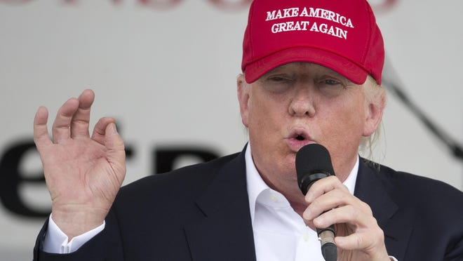 Presumptive GOP presidential nominee Donald Trump continued to defend his comments about U.S. District Judge Gonzalo P. Curiel on Tuesday, June 7, 2016, before saying he would no longer discuss the matter.