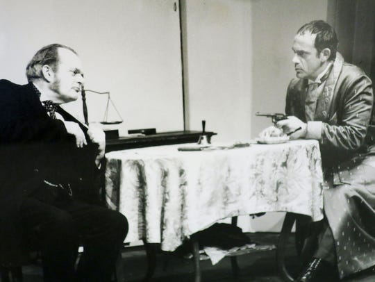 Sam Lloyd (left) and Christopher Lloyd performed in