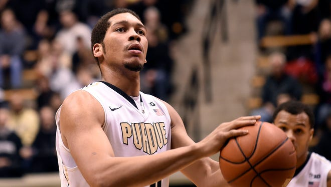 Purdue Boilermakers center A.J. Hammons has long been an enigma in West Lafayette.