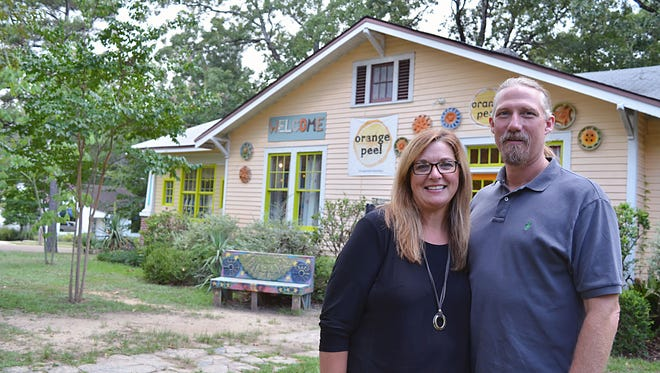 Michele and Greg Austin, owners of Repeat Street in Ridgeland and Revolution consignment store in Starkville, have added The Orange Peel consignment shop at 422 Mitchell Ave in the Fondren neighborhood to their retail family..