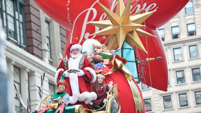 Santa Claus is always the last float of the Macy's parade - except for one year.
