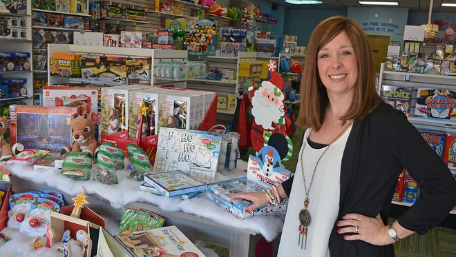 Bethany Mathis, owner of time4toys located at 4804 Lakeland Dr. in Flowood, says there are toys for all ages from 0 to 100.