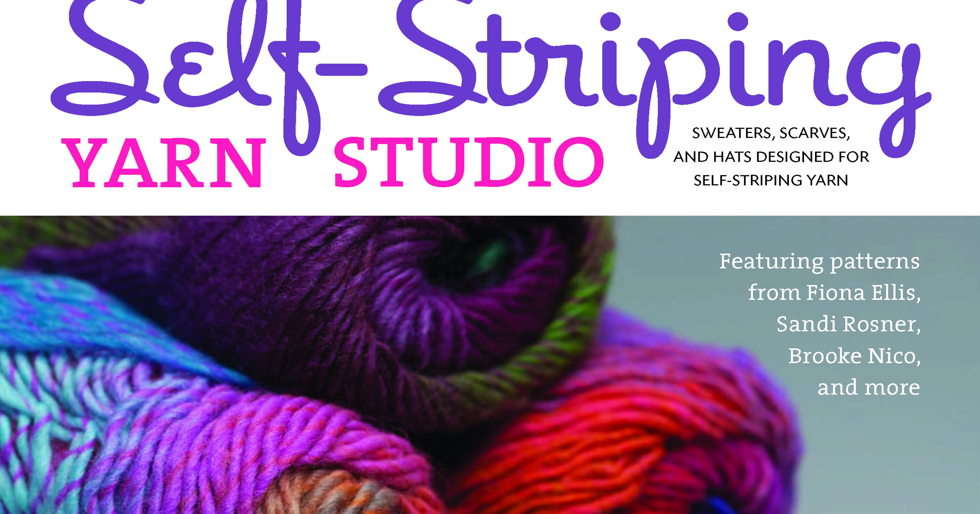 Self-striping yarn studio\