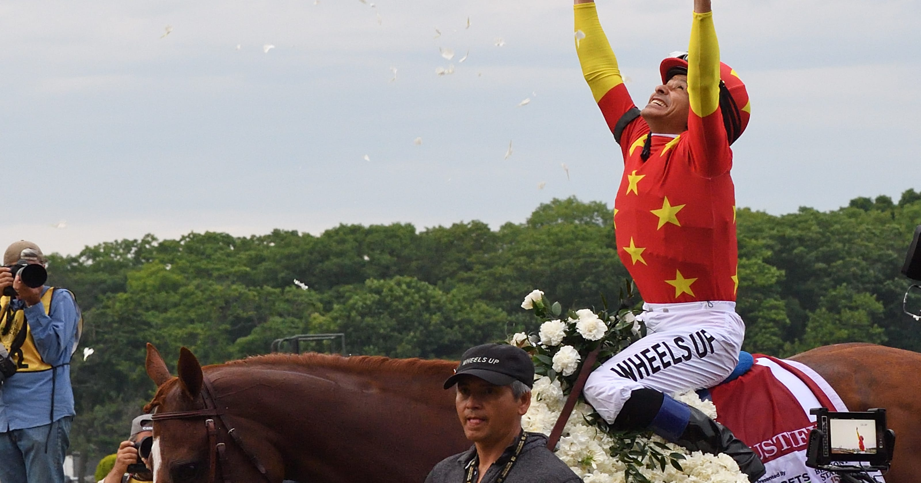 Justify jockey Mike Smith\'s ride to Triple Crown began in New Mexico