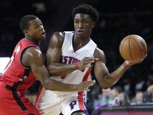 Stanley Johnson,Kyle Lowry