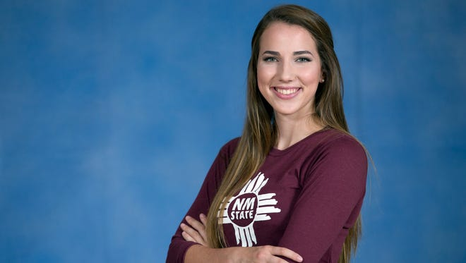Annie Stout, a 2016 graduate of Las Cruces High School majoring in business at New Mexico State University, is one of 15 freshmen who received President's Associates Scholarships this academic year, thanks to funds raised during last spring's PA Ball fundraiser. This year, the PA Ball goes virtual, with an online auction featuring entertainment and travel packages.