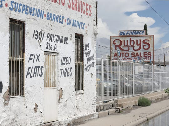 The owners of Ruby's Auto Sales at  1301 E. Paisano