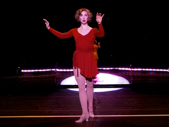 Madison Tinder performs as Cassie in the national tour