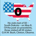 States left for Obama to visit.