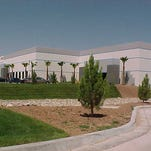 An industrial building in the Santa Teresa Airport Park. El Paso businessman Paul Foster has bought 38 acres in the industrial park.