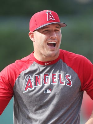 Mike Trout has homered on his birthday three times.