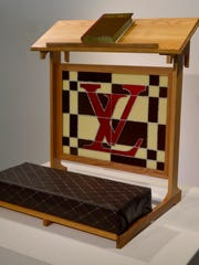 """Slate Grove's """"Luxury Prayers"""" is part of a glass exhibit opening at the University of Tennessee Downtown Gallery."""