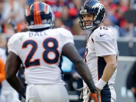 Broncos Texans Football (2)