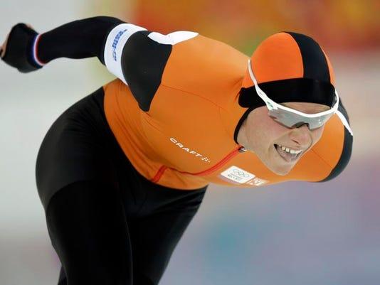 Sochi Olympics Speedskating Men