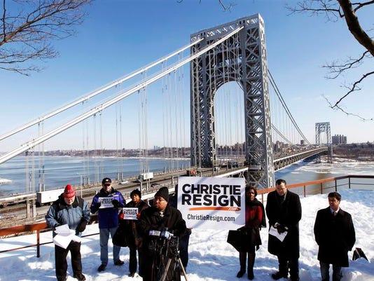 Christie Traffic Jams Protest