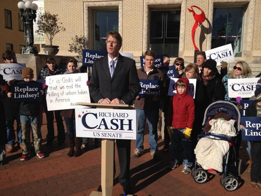 Richard Cash and supporters.JPG