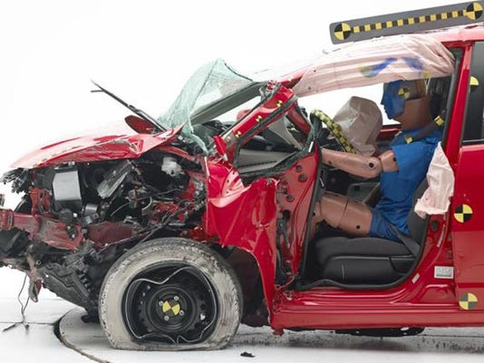 Crash Tests Subcompact Cars