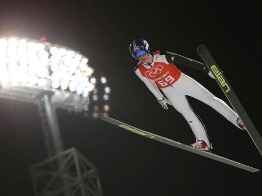 Sochi Olympics Ski Jumping Men