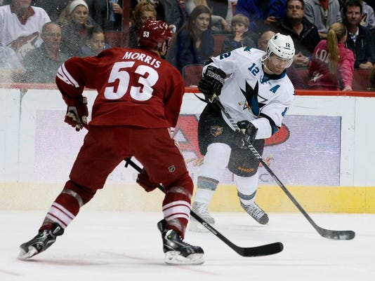 Sharks Coyotes Hockey (2)