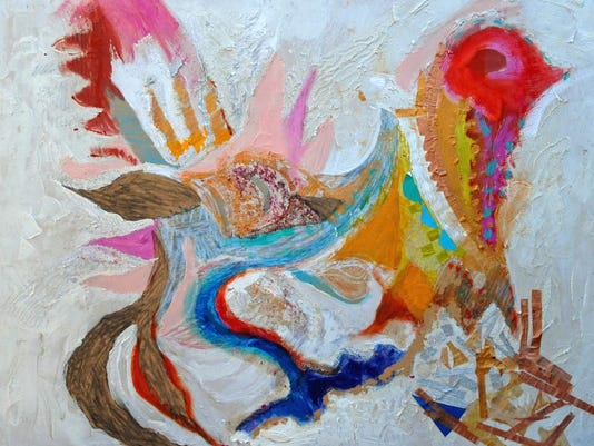 She Phoenix - mixed media by Heidi McGurrin.jpg