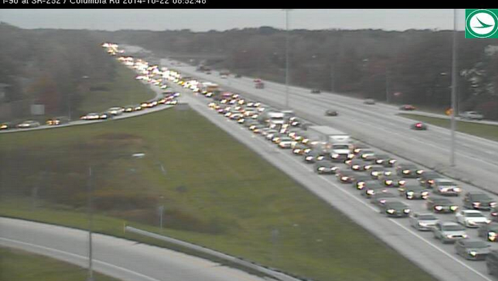 Accident on I-90 EB is causing big delays from the